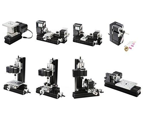 Sunwin Mini Multipurpose Metal Material Machine 8 In 1 Diy Tool Kit
