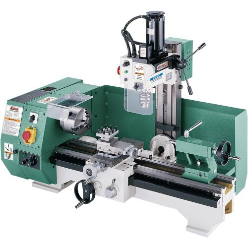 Grizzly G0516 Combo Lathe with Milling Attachment - metal lathe